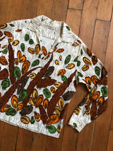 Load image into Gallery viewer, CLEARANCE vintage 1960s novelty feather blouse