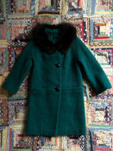 Load image into Gallery viewer, vintage 1960s mod wool coat