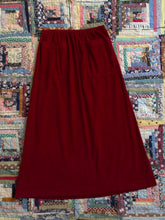 Load image into Gallery viewer, vintage 1930s pink velvet skirt