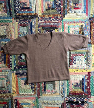 Load image into Gallery viewer, vintage cropped wool top