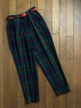 Load image into Gallery viewer, vintage 1950s LEVIS plaid pants
