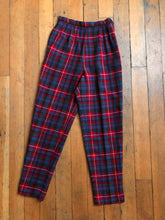 Load image into Gallery viewer, vintage 1960s plaid pants