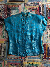Load image into Gallery viewer, vintage 1940s Chinese blouse