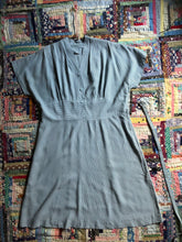 Load image into Gallery viewer, vintage 1950s striped dress