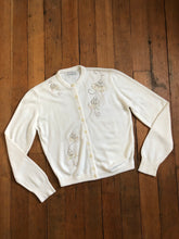 Load image into Gallery viewer, vintage 1950s acrylic cardigan