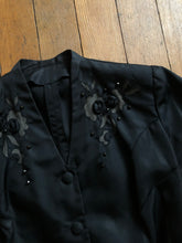 Load image into Gallery viewer, vintage 1940s black jacket