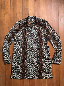 vintage 1960s Cole of California Leopard cover up