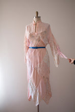 Load image into Gallery viewer, SALE vintage 1970s patchwork dress