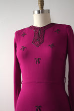Load image into Gallery viewer, vintage 1940s beaded blouse