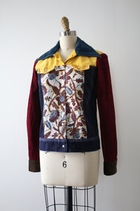 vintage 1970s bootleg Mickey Mouse jacket