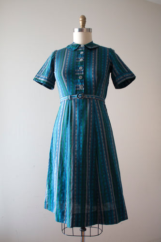 CLEARANCE vintage 1950s mid century dress