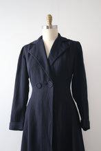 Load image into Gallery viewer, vintage 1940s pin stripe jacket