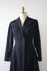vintage 1940s pin stripe jacket