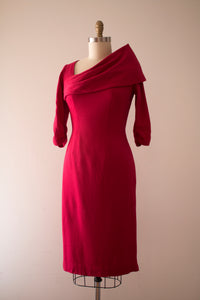 vintage 1950s Lilli Diamond wool dress
