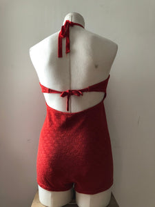 CLEARANCE vintage 1930s knit swimsuit