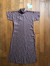 Load image into Gallery viewer, vintage 1940s rayon Cheongsam