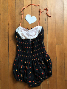 vintage 1950s novelty rooster swimsuit