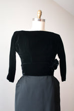 Load image into Gallery viewer, vintage 1950s Suzy Perette evening dress
