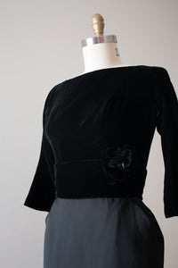vintage 1950s Suzy Perette evening dress