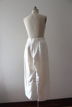Load image into Gallery viewer, vintage 1930s white linen pants