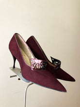 Load image into Gallery viewer, vintage 1950s extreme pointed stilettos