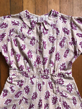 Load image into Gallery viewer, vintage 1930s 40s floral romper