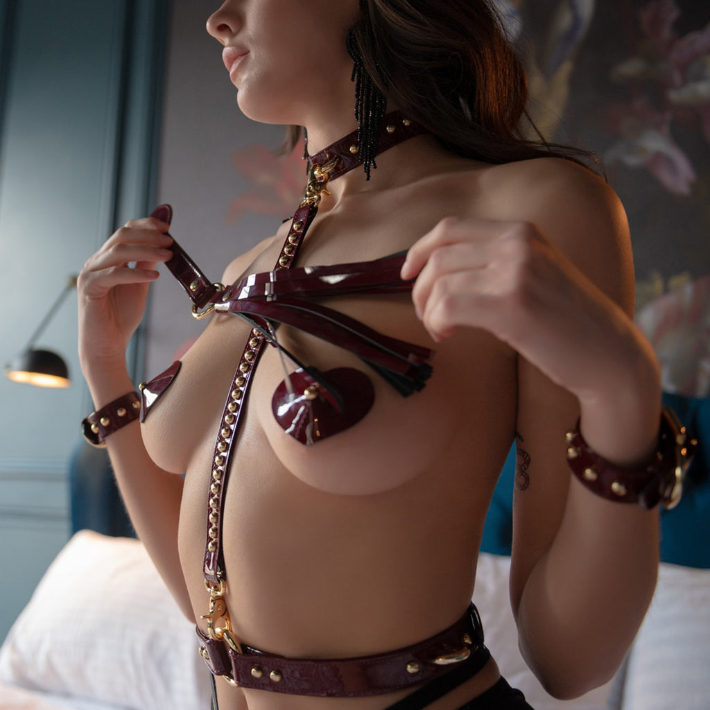 """Valentino Red"" Full Bondage Set"