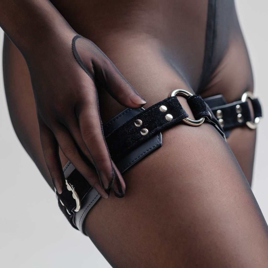 "Thigh Cuffs ""Full Moon"""