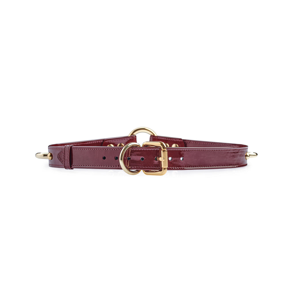 "Bondage Belt ""Valentino"" Red"