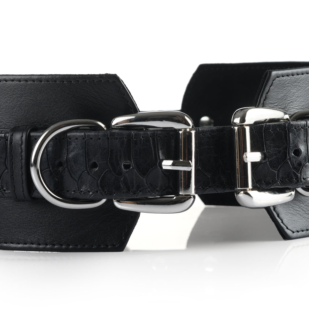 "Bondage Belt ""Carbon Snake"""