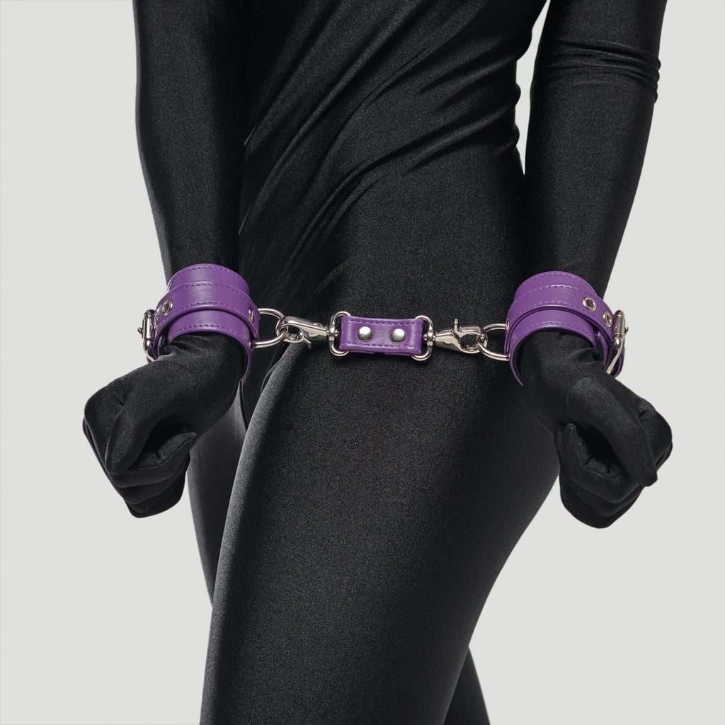 "Submissive Bondage Set ""Calypso"" Purple"