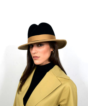 Nell Fedora | Camel and Black