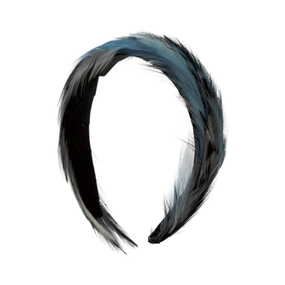 Plumage Band | Black/Sky/White