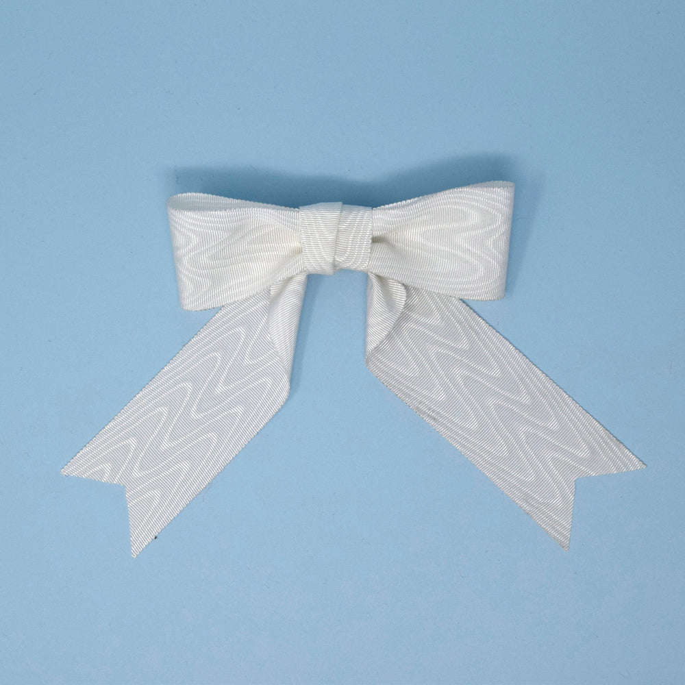 Moire Bridal Bow
