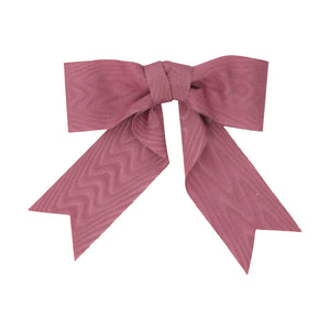 Moire Bow | Dusty Rose