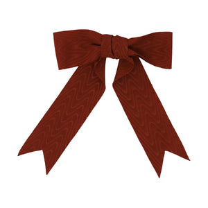 Crimson Moire Bow | Crimson