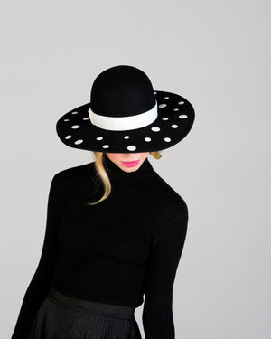Dots Brim Hat