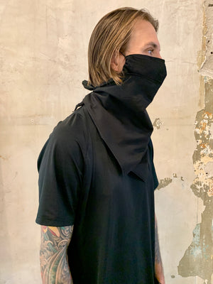 BURRIS Bandana Mask | Black