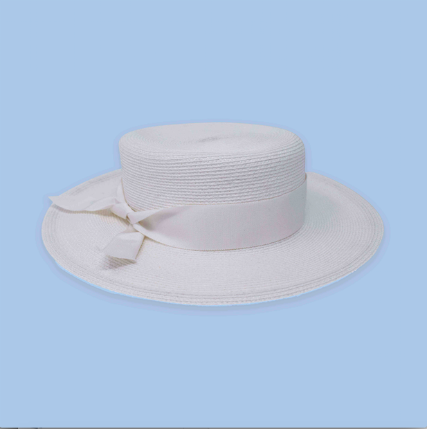 Bridal Boater Hat