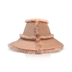 Vera Shearling Bucket Hat | Dusty Rose