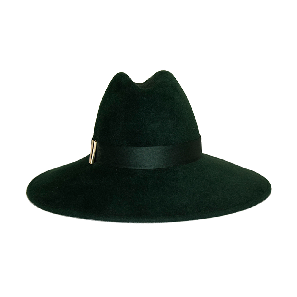 Requiem Fedora | Hunter Green