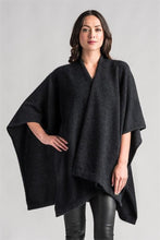 Load image into Gallery viewer, Possum and Merino  This multi-tasking piece is perfect to wrap up in when cold weather hits.  Dress it down with jeans or up for a night out when an extra layer over tops or dresses is called for.  When travelling this easy throw on piece delivers effortless style, and doubles as a luxurious blanket.  One Size