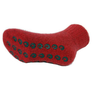 Red Sole House Sock