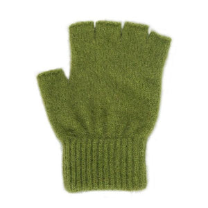 Olive Open Finger Glove