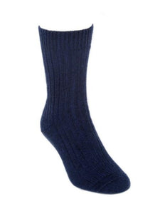 Midnight Casual Rib Sock