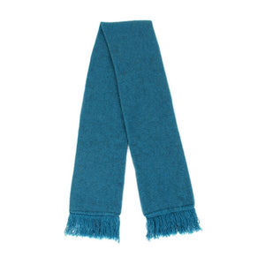 Teal Plain Scarf