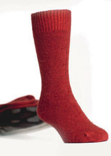 Red Dress Socks