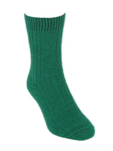 Emerald Casual Rib Sock