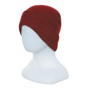 Berry Double Layer Beanie - Reversible