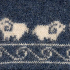 Luxuriously warm and soft, double thickness Sheep Scarf.